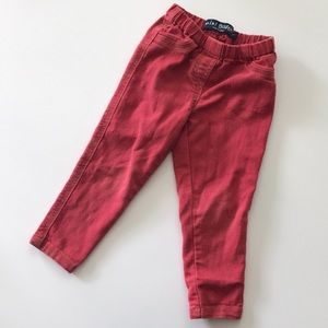 Mini boden red pants size 2 in great shape! Jeans